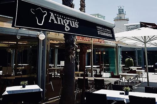 restaurantes angus muelle uno malaga