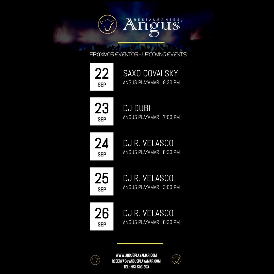 live music angus playamar
